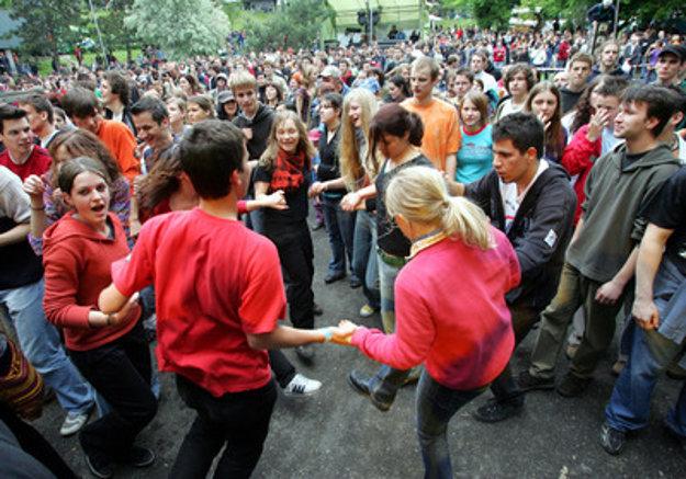 Student fest in Mlynská dolina
