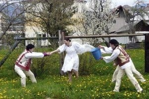 Easter traditions in Slovakia.