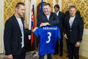 l-r: Adam Zreľák, Robert Fico, Robert Kaliňák and Pavel Hapal