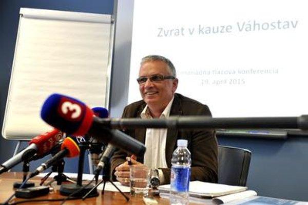 Marián Moravčík, CEO of Váhostav-SK