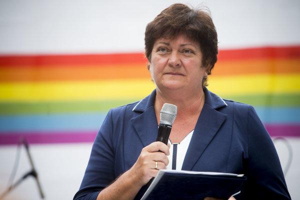 Ombudswoman Mária Patakyová