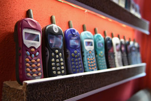 Museum of vintage mobile phones, Dobšiná