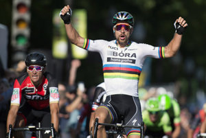 Québec victory in World Tour of Peter Sagan.