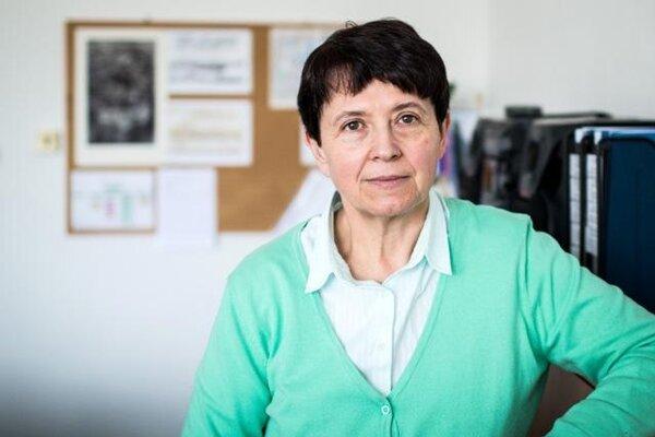 Viera Kalmárová, main school inspector