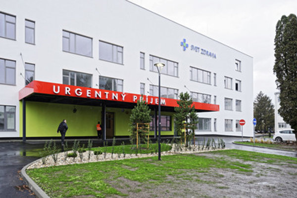 The new hospital in Michalovce