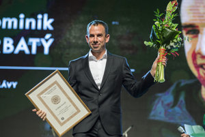 Dominik Hrbatý was intriduced in the Slovak Tennis Hall of Fame November 21, 2017.