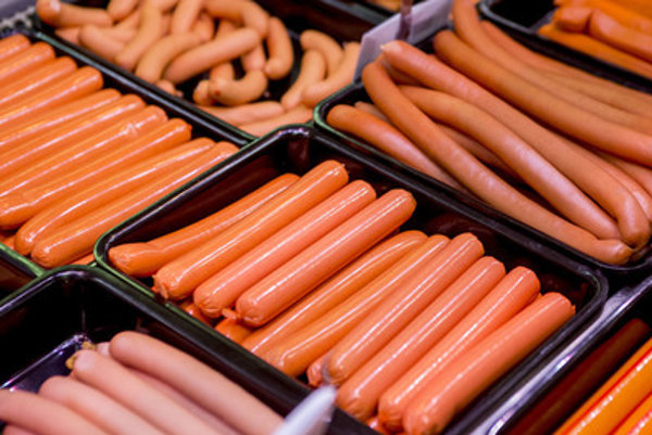 Frankfurters, illustrative stock photo