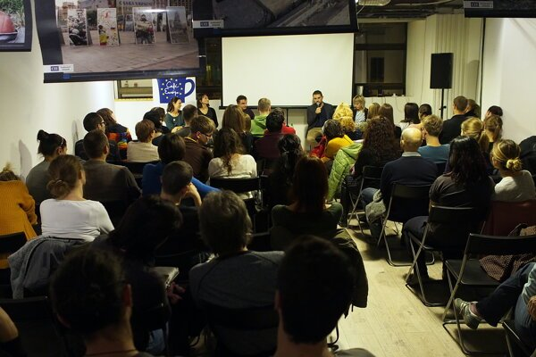 Cafe Europa debate on migrants was part of the One World festival