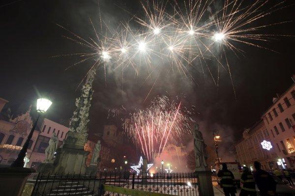 Silvester/New Year's Eve in Košice