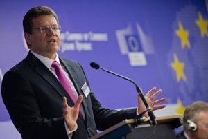 European Commission Vice-president for the Energy Union Maroš Šefčovič