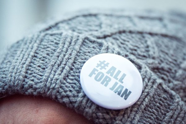 #allforjan gathering in Bratislava on March 2.