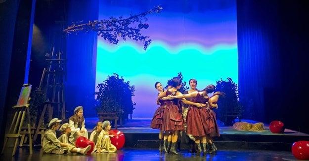 L'Amico Fritz - Priateľ Fritz, opera stageing in Banská Bystrica
