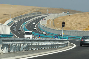 The R1 stretch from Nitra to Banská Bystrica