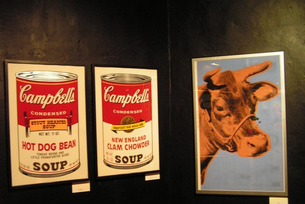 Campbell Soups by Warhol