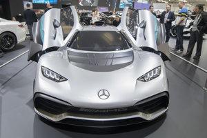 Mercedes - AMG Project ONE at Autosalón Bratislava, April 24, 2018