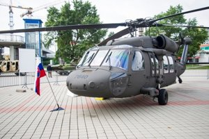 UH-60M Black Hawk helicopter of Slovak army.