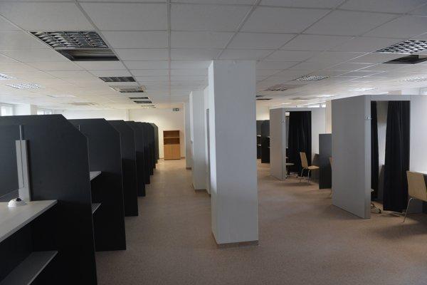 New premises of Bratislava Foreigner' Police in Regrútska 4, in the borough of Vajnory.