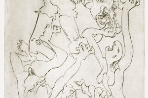 Emil Filla: Struggle - Nazism III. 1937. Moravian Gallery in Brno