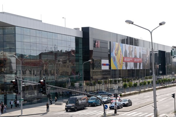 Shopping centre Mlyny in Nitra