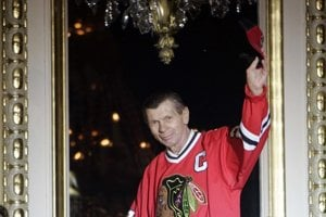 Legendary Blackhawk, ice-hockey player with Slovak roots Stan Mikita