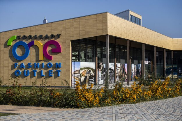 Outlet centre in Voderady