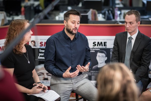 Matúš Vallo discusses the municipal elections at the SME daily.