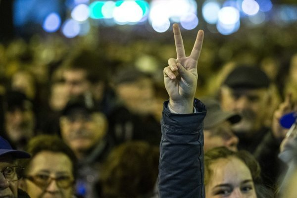 Bratislava protest November 16, 2018