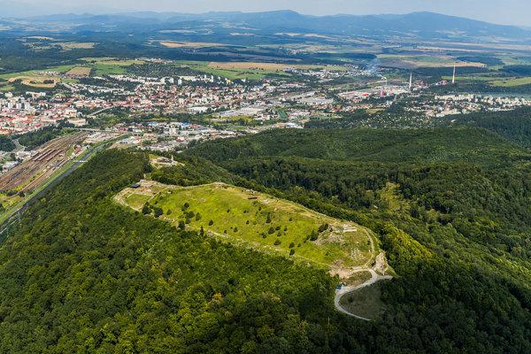 Pustý Castle in Zvolen