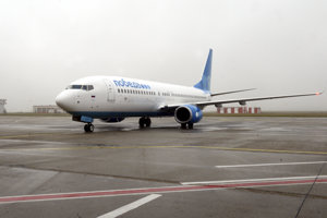 Pobeda launched flights between Bratislava and Moscow in December 2015.
