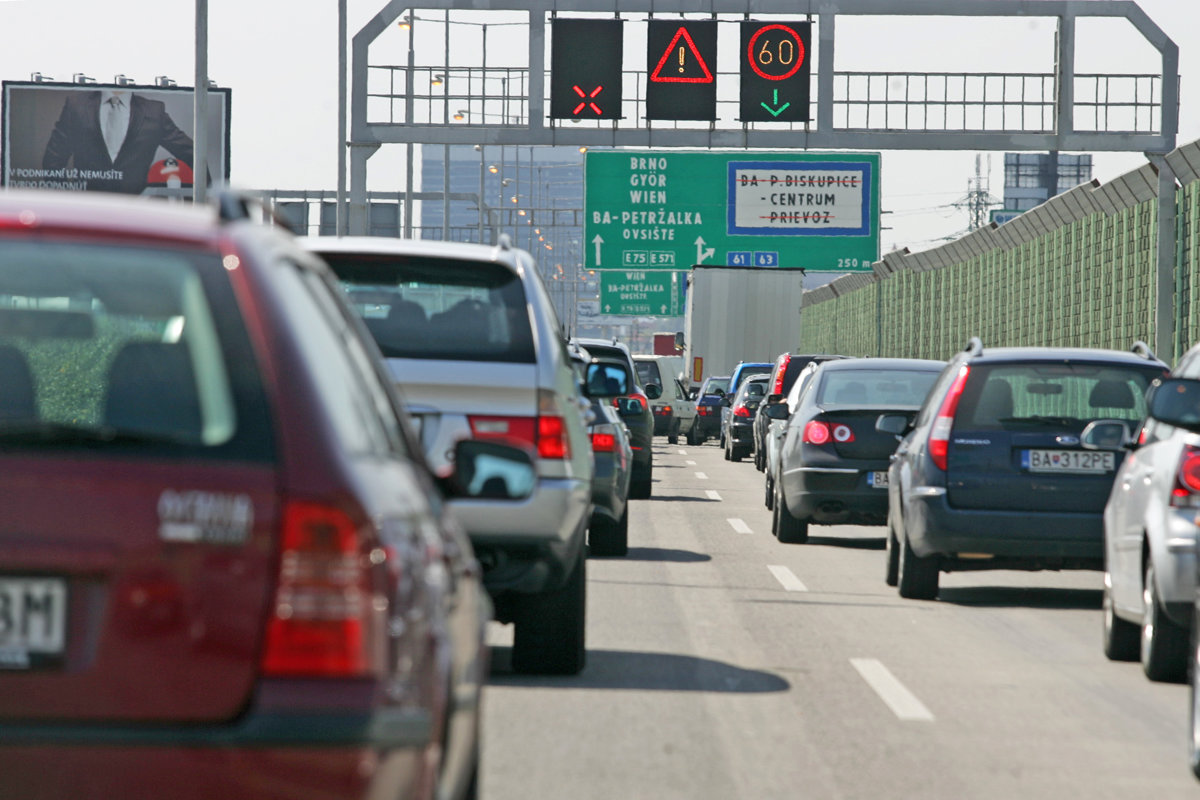 a18fed6a65ee Bratislava traffic  Facts about the road closure - spectator.sme.sk