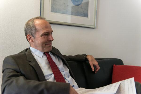 Swiss Ambassador to Slovakia Alexander Hoffet