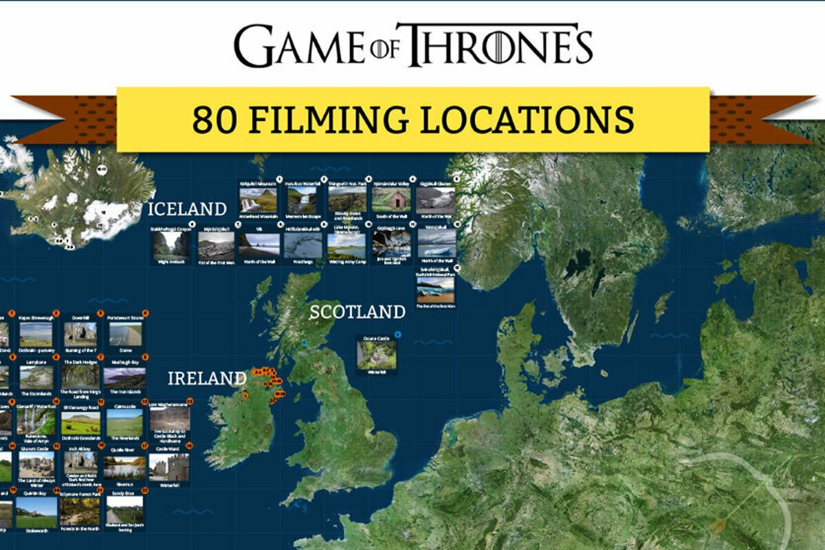 Game of Thrones: List of 80+ filming localities - spectator sme sk