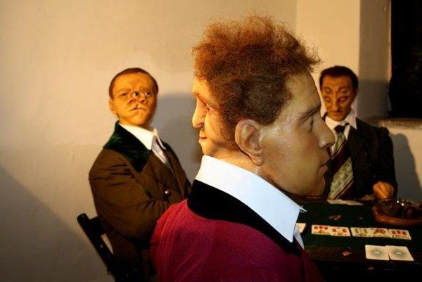 Human body anomalies exhibition, Bojnice