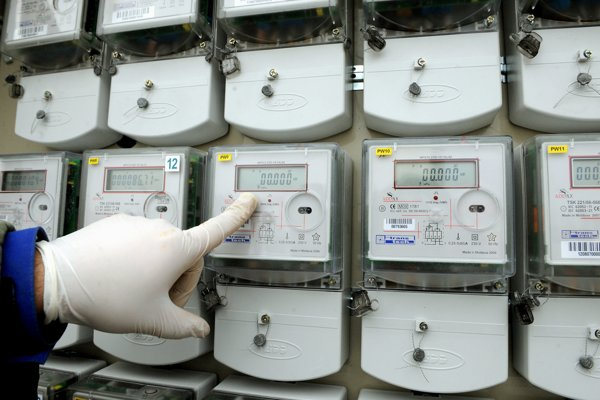 The smart meters should help save energy.