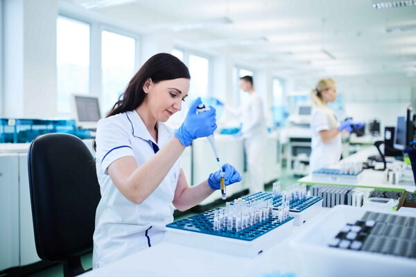 Medirex is the largest company in Slovakia to carry out the analysis of blood tests.