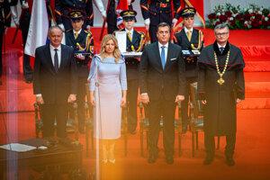 Inauguration of President Zuzana Čaputová.