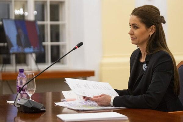 Justice Ministry State Secretary Edita Pfundtner.