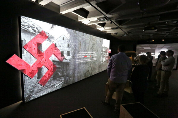 The new exhibition at the SNP Museum in Banská Bystrica takes visitors to the trenches to experience the war on their own skin.