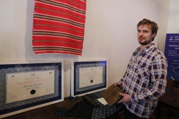 Slovak blueprint master, Matej Rabada.