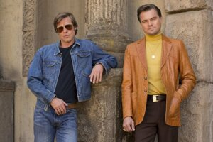 Leonardo DiCaprio and Brad Pitt star in Quentin Tarantino's ninth film.