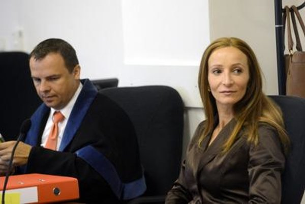 Defendant Eva Z. before the Pezinok court.