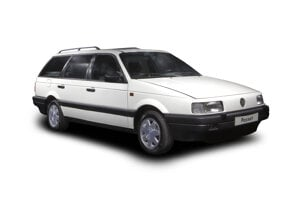 The first car produced in Bratislava was the Passat.