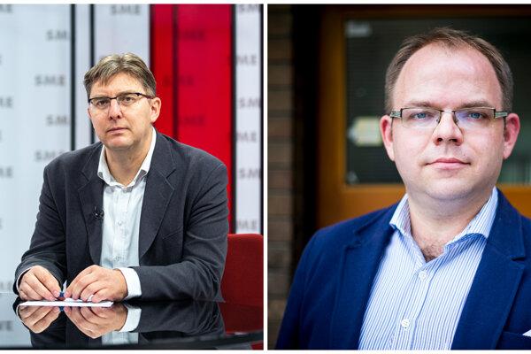 Martin Slosiarik and Václav Hřích