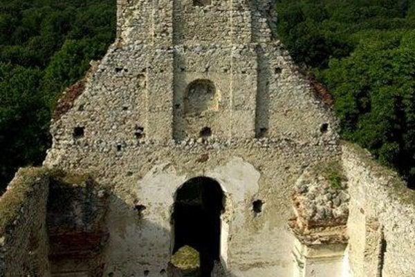 Ruins of St Catherine's Monastery