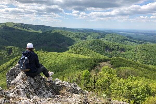 View from Vysoká