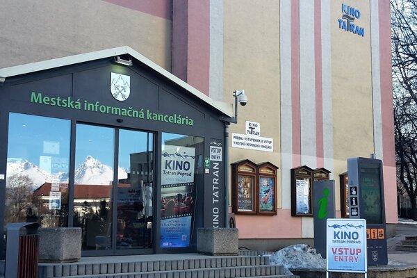 Cinema Tatran in Poprad.