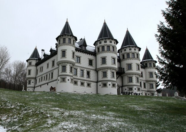 Repište Castle was built just recently as a private investment