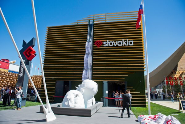 Slovakia's pavilion at EXPO in Milan has been well received by Italians as well as other visitors.