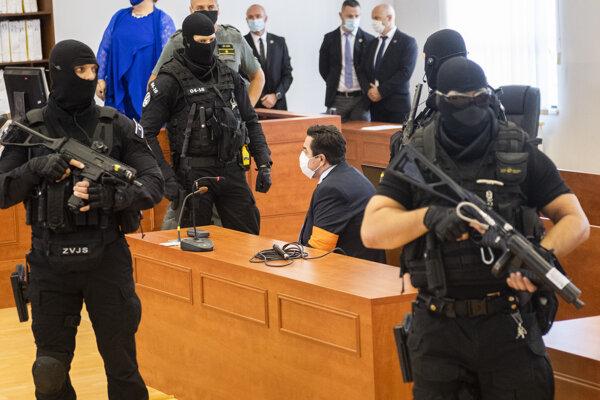 Marian Kočner before the verdict.