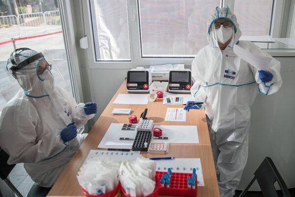 Antigen testing for COVID.